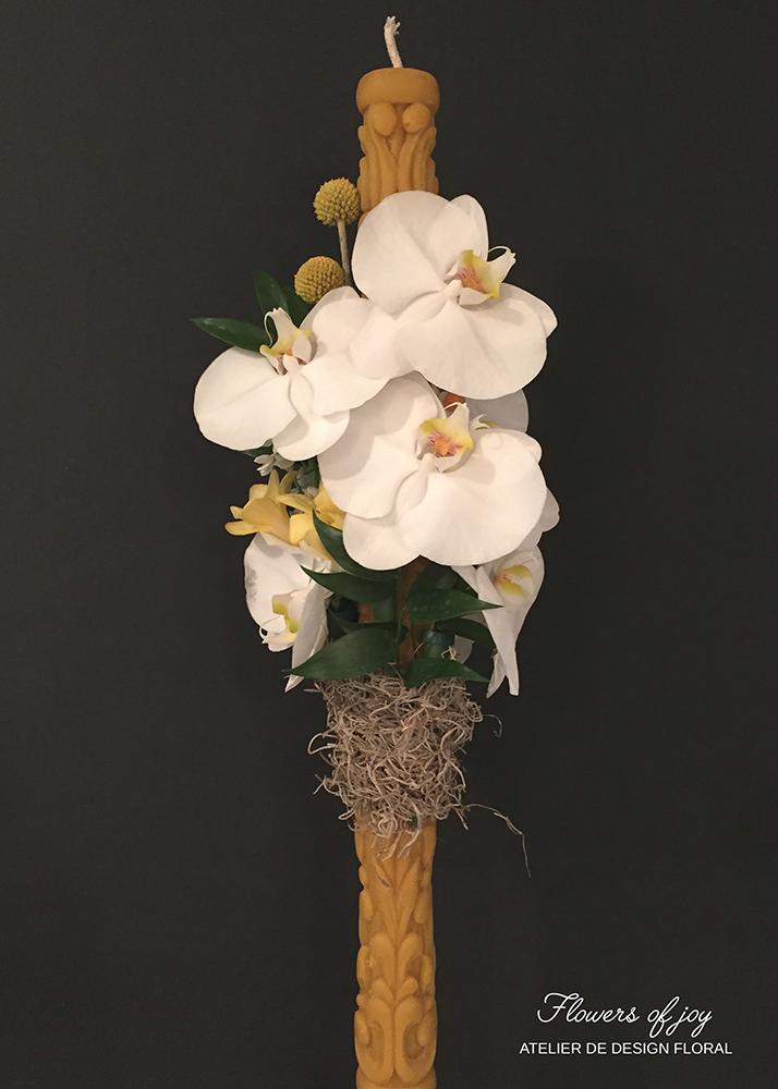 lumanari cununie flowers of joy