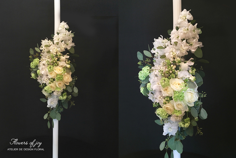 lumanari nunta lungi sau scurte flowers of joy